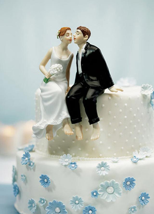【お取り寄せ】ケーキトッパー【ロマンチック編】WHIMSICAL SITTING (MJ6080)