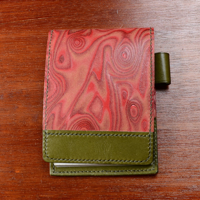 Woodern Leather Rhodia Cover (木目革 ロディアカバー )N°12 用(大)
