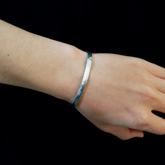 【UMB-006】Narrow Plate Tin Bangle