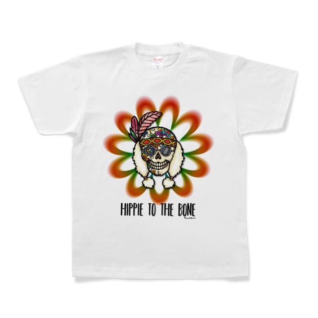 Tシャツ『Hippie to the Bone/02』(UNISEX)