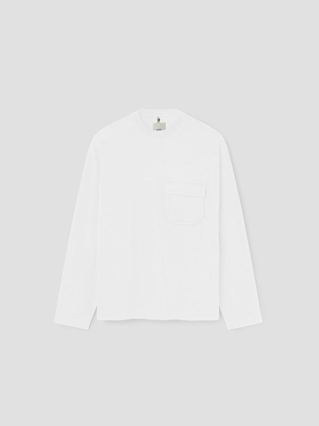 OAMC CLAES L/S T-SHIRT White OAMT701368