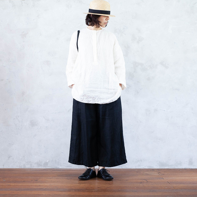 atelier Roughatour - wing over blouse オフ