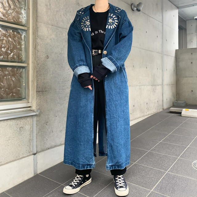 Made in USA 80's Vintage Denim Coat