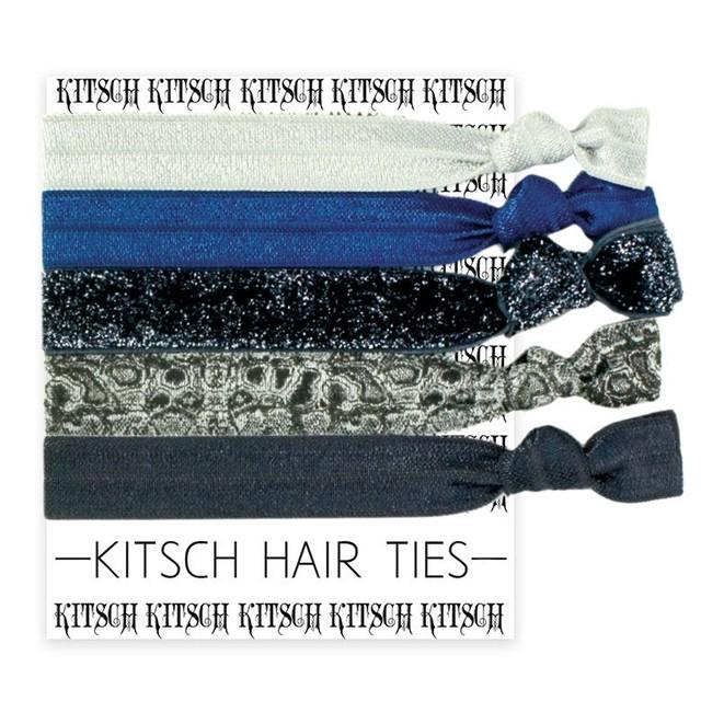 KITSCH(キッチュ) LIMITED HAIR TIES ブルースティール BLUE STEEL