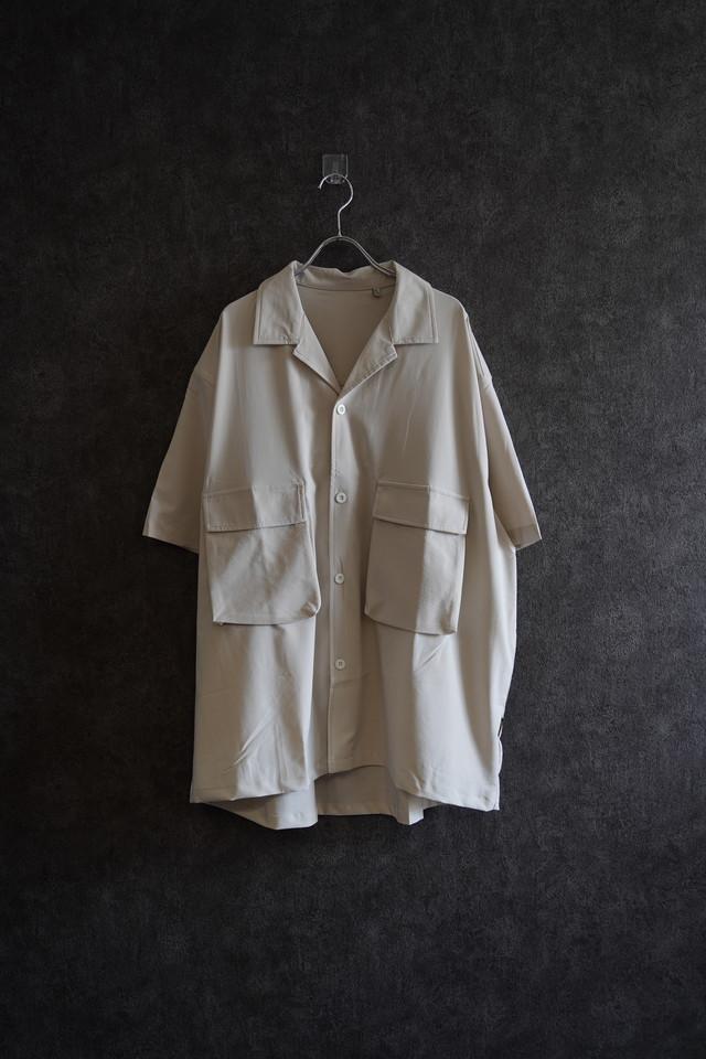 ℃℃℃  double Pocket shirt  beige