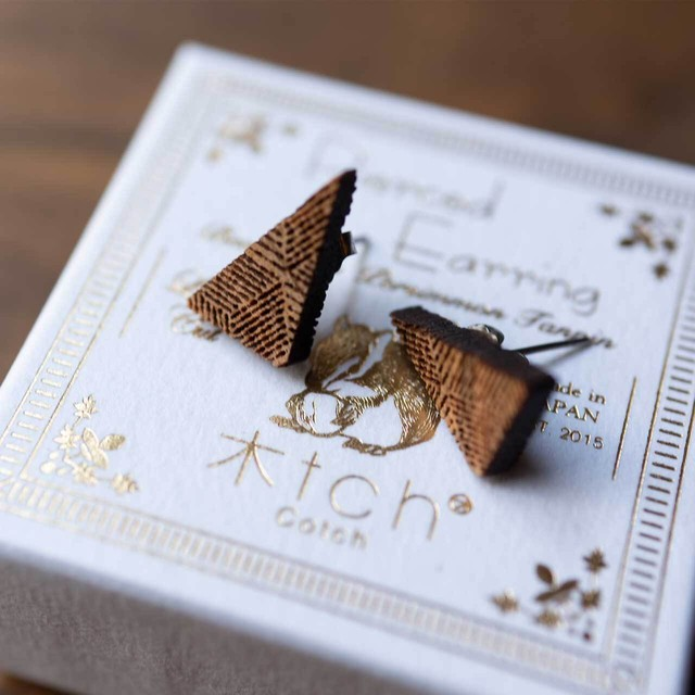 right triangle / 直角三角形(Pierced Mini)