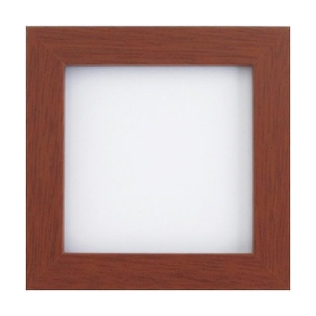 オリムパス製額縁 木製フレーム(ブラウン)W-51:C-6997