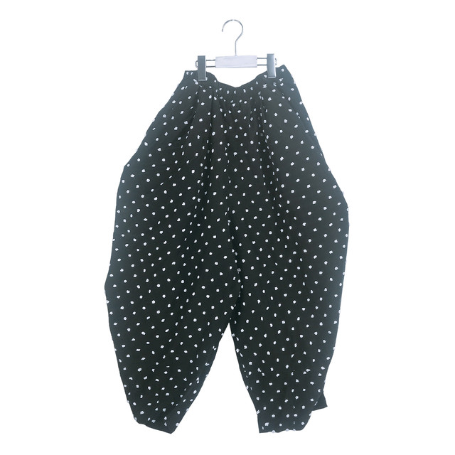 BONBON CUT JQ GATHER PANTS / LL
