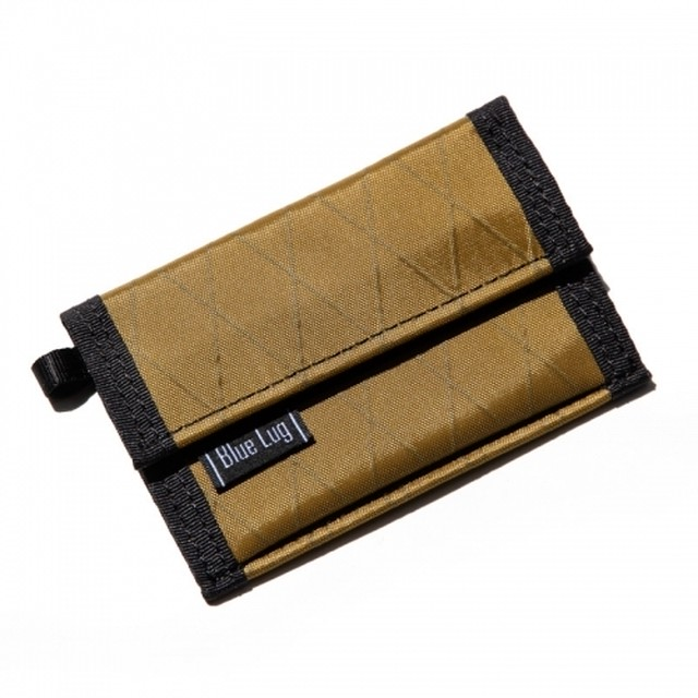 BLUE LUG micro wallet X-pac(コヨーテ)ブルーラグ マイクロウォレット