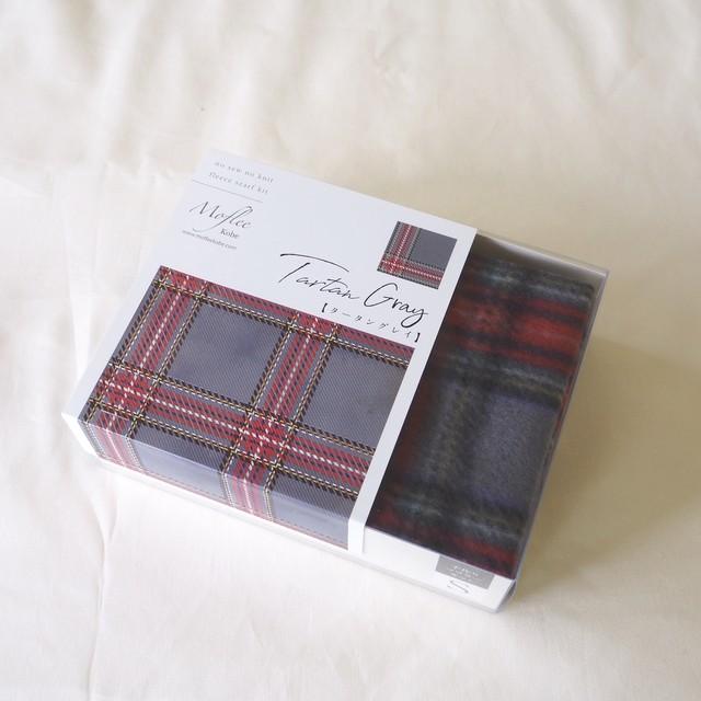 【Moflee Box Kit】 タータングレイ Tartan Gray ◆Sサイズ