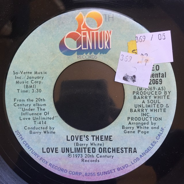 Love Unlimited Orchestra ‎– Love's Theme