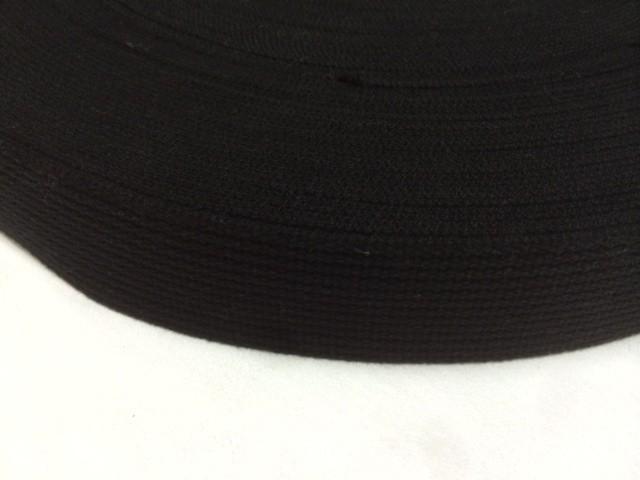 アクリルテープ 38mm幅 2㎜厚 黒 1mカット