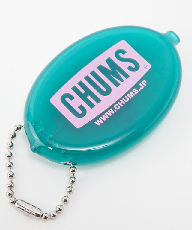 CHUMS(チャムス) CHUMS Logo Quikoin with Ball Chain(チャムスロゴクイコインウィズボールチェーン) Teal (ティール) CH61-1005