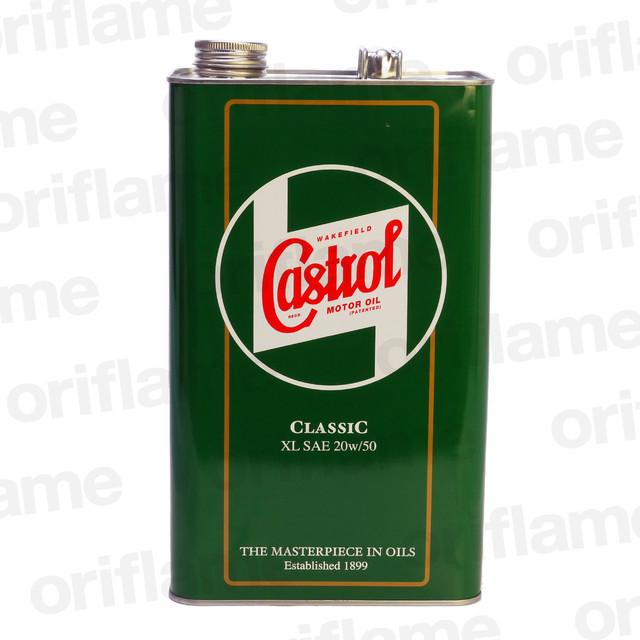 Castrol・カストロール・クラシック・オイル XL 20W-50 5L 鉱物油