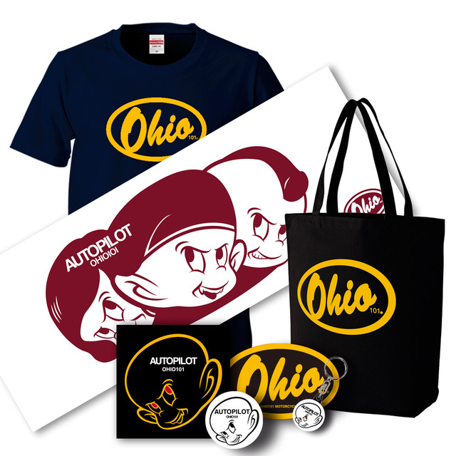 OHIO101 GOODS complete SET A