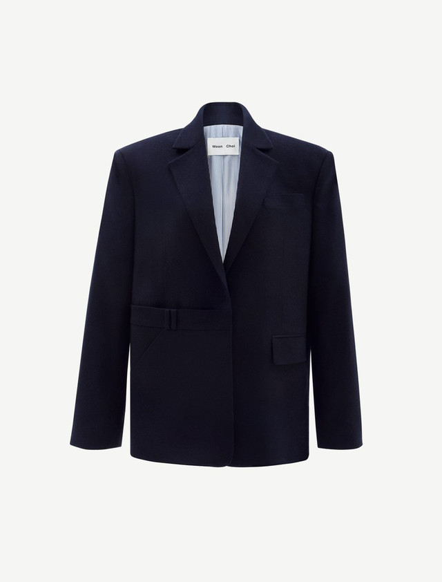 Wide Wool Jacket