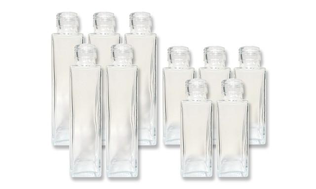 ガラスボトルセットF