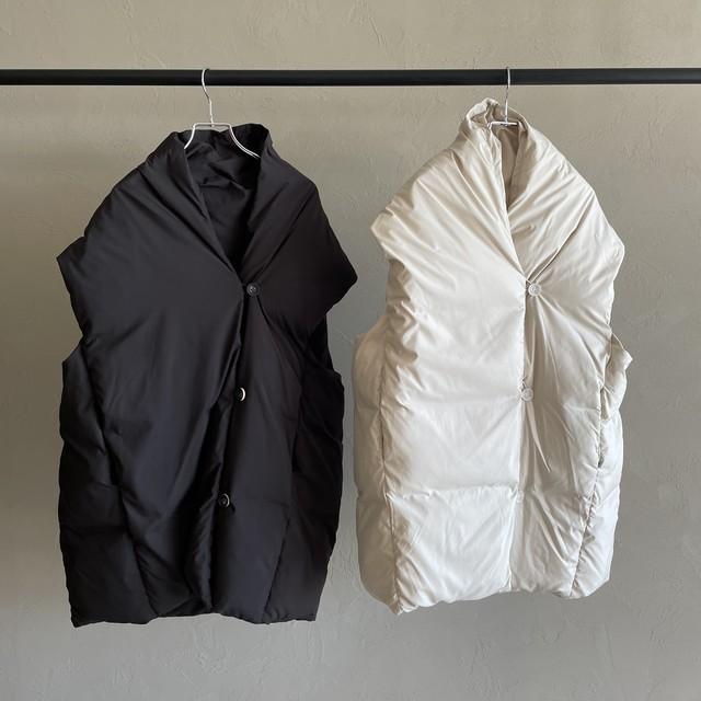 【 CYAN TOKYO 】-  「SHIZUKU」 half length down vest