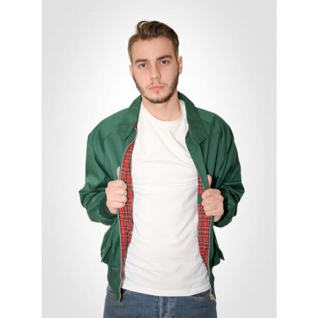 【COMBAT】 英国製 ハリントンジャケット 〈Green〉