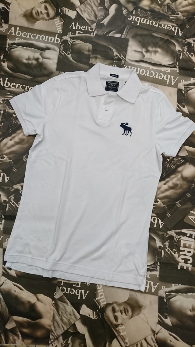 Abercrombie&Fitch MENS ポロシャツMサイズ