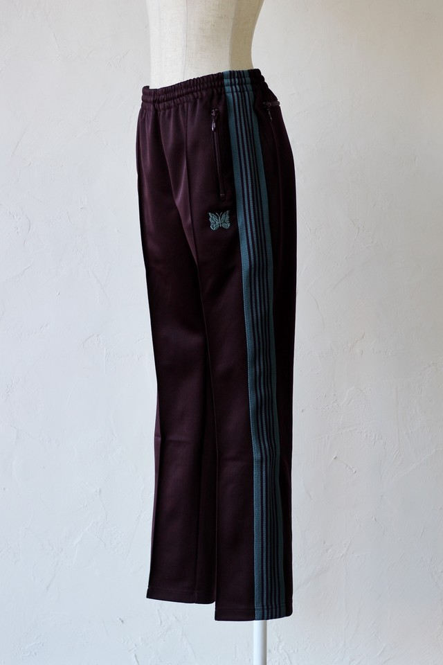 【Needles】narrow track pant-bordeaux