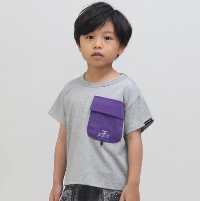 RIO メッシュポケット付きTシャツ