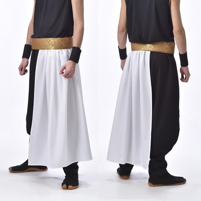 腰巻セット 金×白 腰巻+ワンタッチ帯 ポリエステル 日本製 よさこい衣装 太鼓衣装