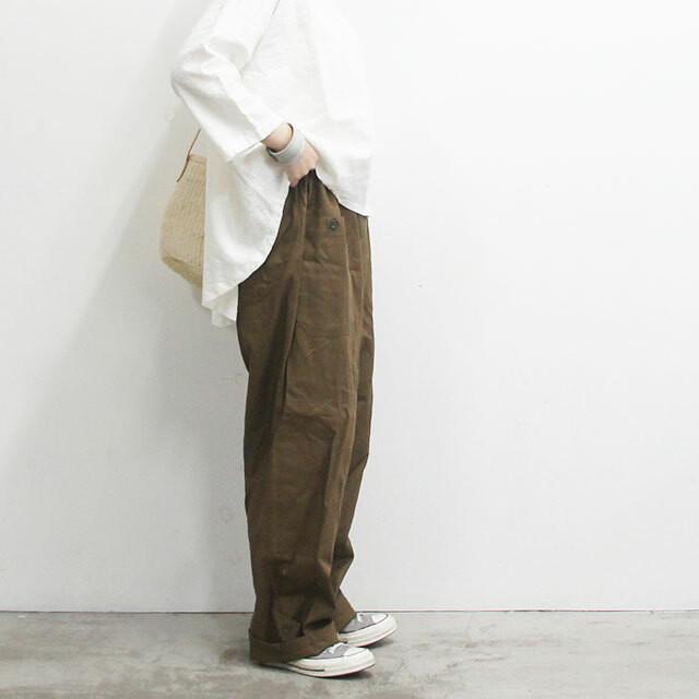 deadstock デッドストック チェコ軍イージーワークパンツ メンズ レディース パンツ ロング ミリタリー 体型カバー 着やせ 大きめ ゆったり 通販 (品番dkd-pts-0035)