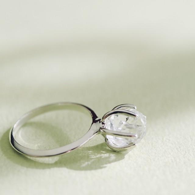 Rough cut Ring ✧クォーツ  silver925 ✧