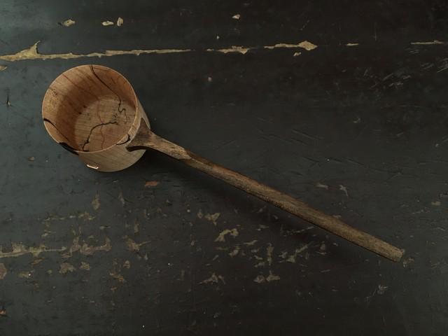 椅子ノ杜五郎 コーヒーメジャーb(匙の縁に漆糊のパッチあり)