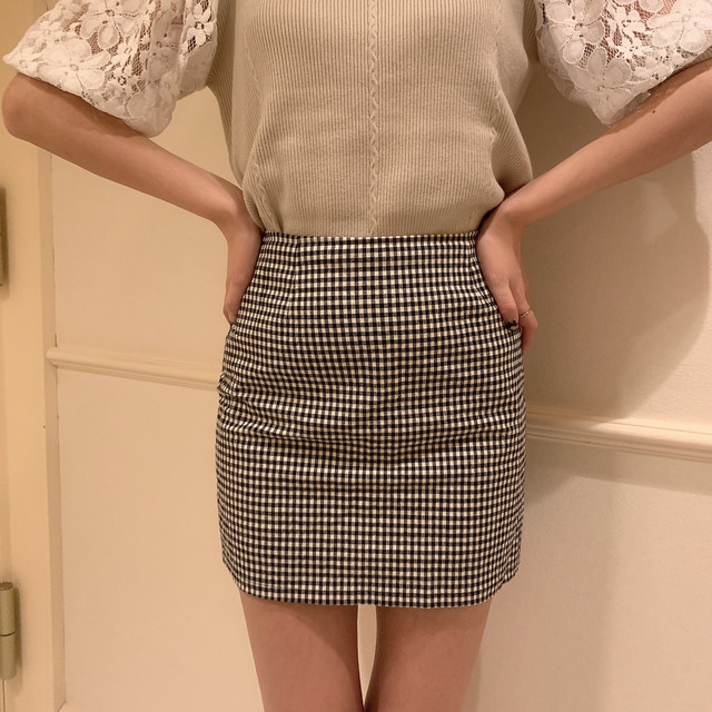 9/22 RESTOCK check tight skirt