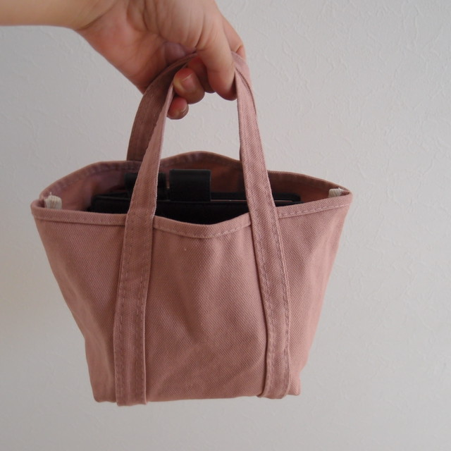 CUBE TOTE (S) ダスティピンク