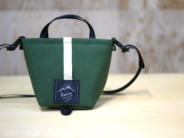 RAWLOW MOUNTAIN WORKS / TIBITIBI TOTE (FOREST GREEN)