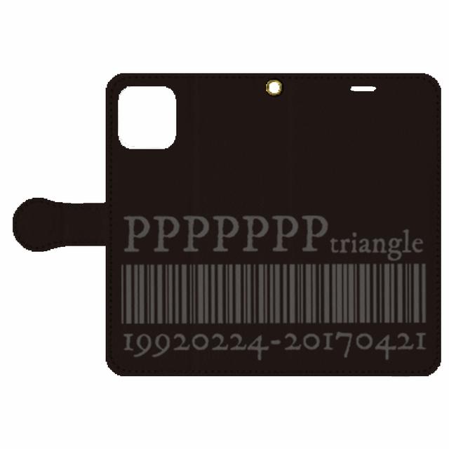 【ピラミ△デザイン】iPhone 11 Pro 手帳型ケース