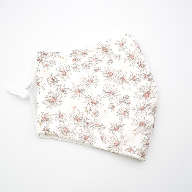 80sコットンシフォン・切替フリルスカート