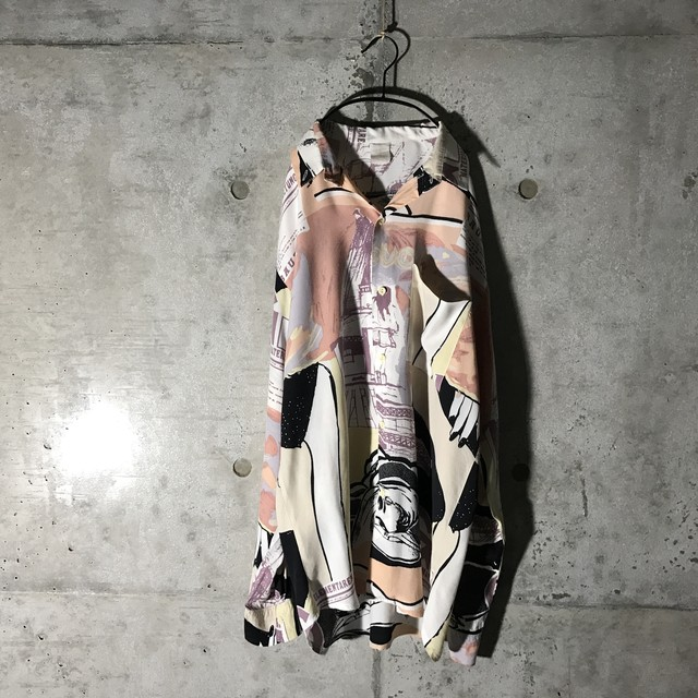 [used] like water paintgng shirt