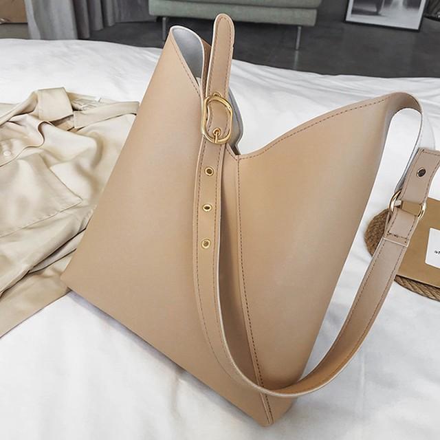 シンプルで大人可愛いショルダーバッグ【FS1456】