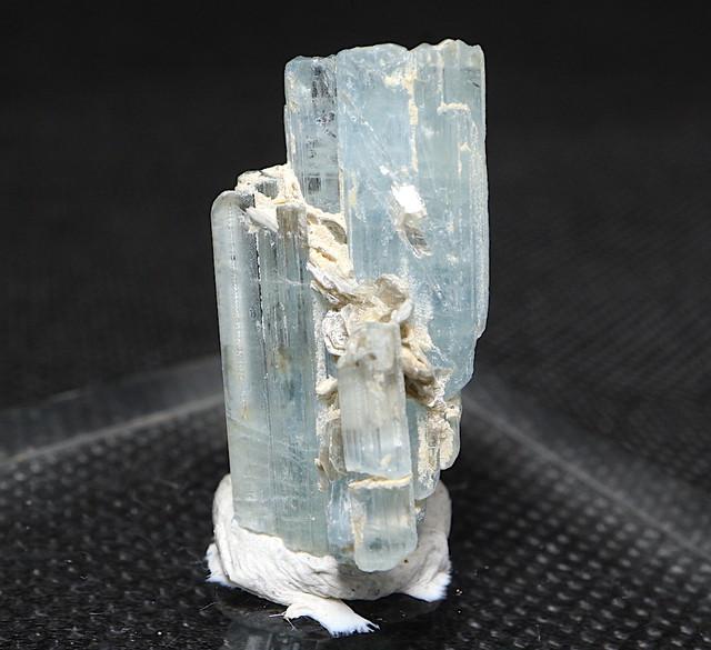 パキスタン産 アクアマリン ケース入り 4,6g AQ087 天然石 鉱物 パワーストーン 標本