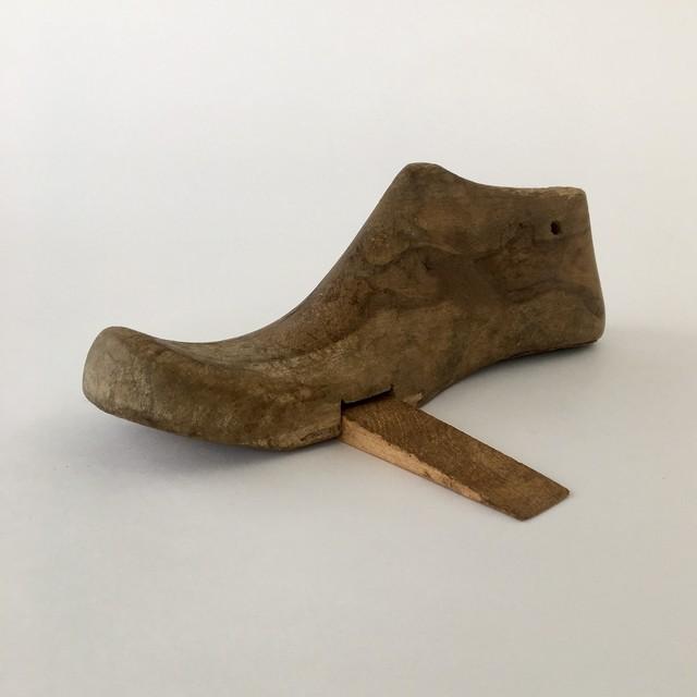 靴の木型のドアストッパー|Shoe Last Door Stopper(PUEBCO)
