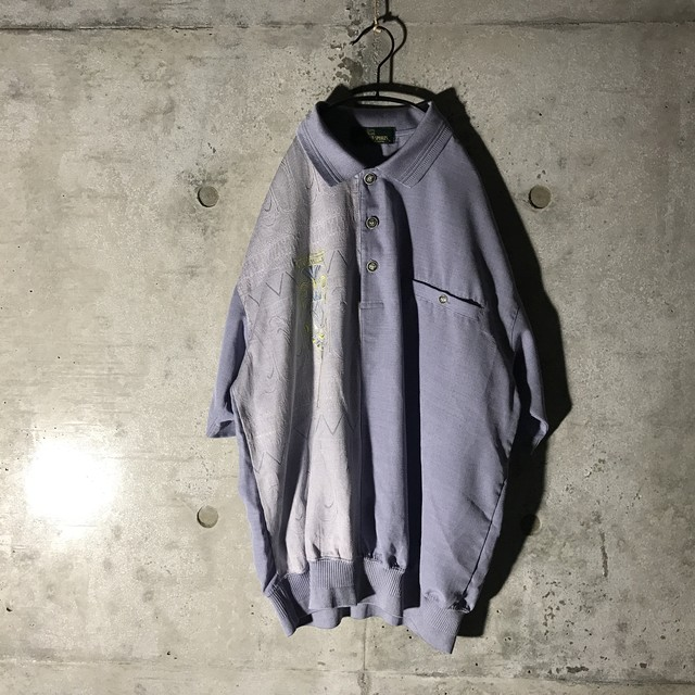 [used] thin purple switching pullover