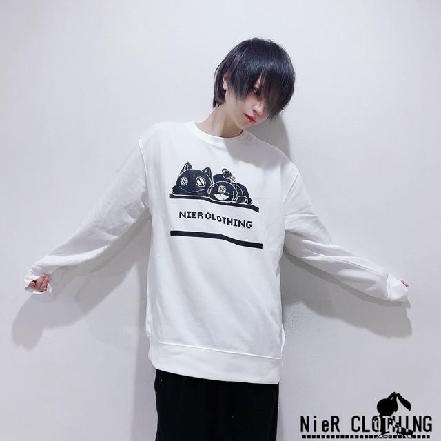 【新春応援イベント商品】コットンホワイトトレーナー《2XL》