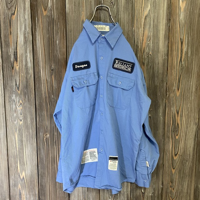 [used]Armorex light blue work  shirt