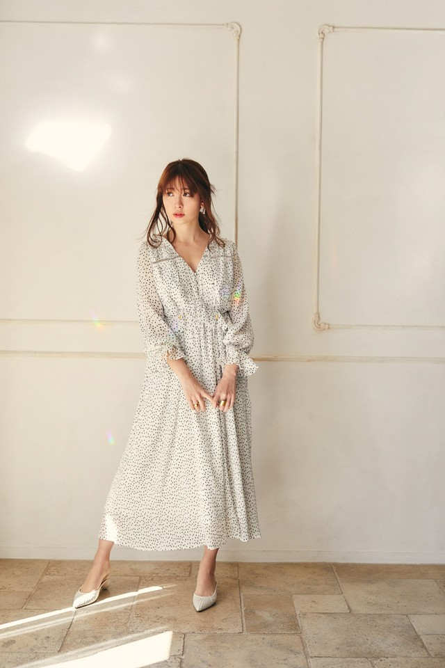 Polka Dot Long Dress