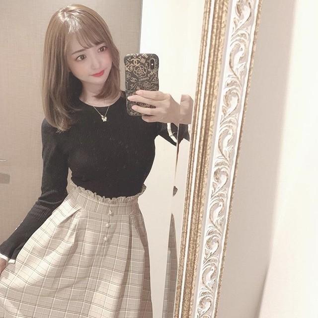 【yuutamu_non様着用】レトロガール♡コットンチェックスカート A0065