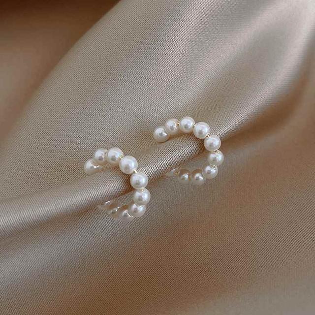 「order」pearl ear cuff c01