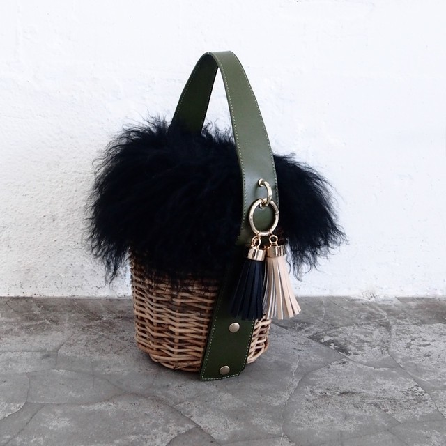 Fur - Pillar #Olive