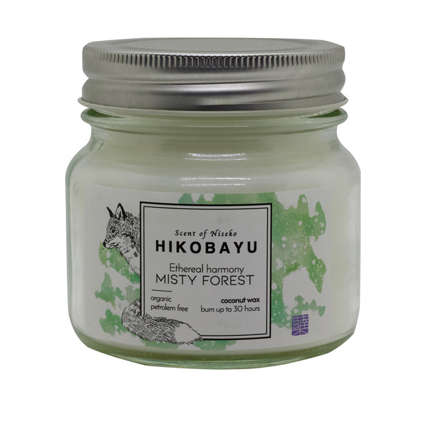 MISTY FOREST  トドマツオーガニックキャンドル ETHEREAL HARMONY  CANDLE   30 hour