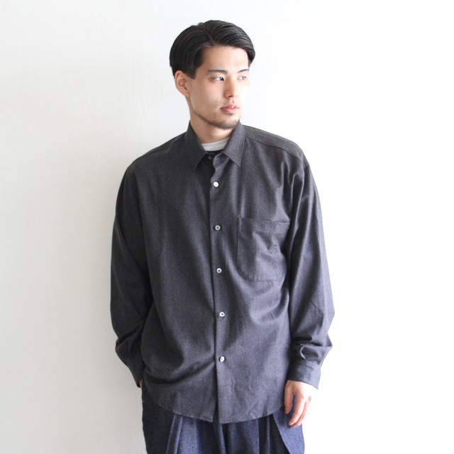 LAMOND【 mens 】organic cotton nep back twill jacket