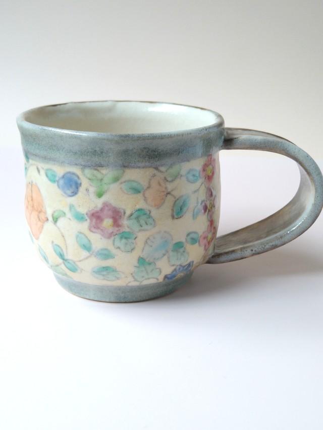 更紗みのりコーヒーカップ b