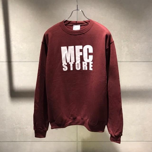 MFC STORE LOGO CREWNECK SWEATSHIRT / MAROON